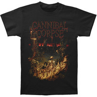 Cannibal Corpse Men's  ASD Closeup T-shirt Black