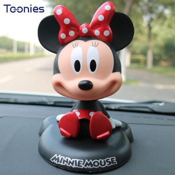 Automobile Ornaments Car Styling Nodding Mouse MINI Roadster Coupe Paceman Cabrio Car Decorations Animal Cartoon Head Car Toys