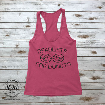 Deadlifts for Donuts - Tank