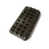 Spiked iPhone 4/4s Case // black on black