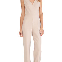 Trina Turk Gianetta Jumpsuit in Tan