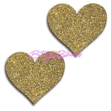 Glitter Heart Pasties (More Colors)