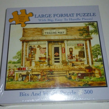 Uncle Joe's Trading Post 300 Piece Jigsaw Puzzle