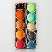 The Painter II (Vintage Edition) iPhone & iPod Case by Laura Ruth