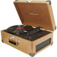 Crosley Traveler Turntable CR49 Turntable - Tan  from Crosley Radio in Home Audio