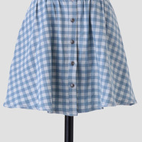 Little House Gingham Skirt