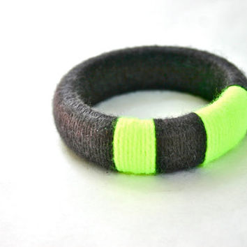 Neon Yellow Bangle