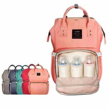 Large Diaper Backpack Baby Organizer