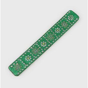 Green Beaded Incense Burner - Spencer's