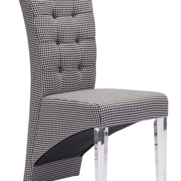 Waldorf Dining Chair | Houndstooth