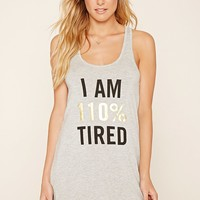 Tired Graphic Nightdress