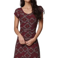 LA Hearts Suede Cross Back Dress - Womens Dress - Multi