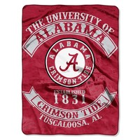 Alabama Crimson Tide Throw Blanket