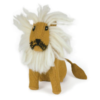Plush Lion Toy, Orange, Figurines & Animal Figures