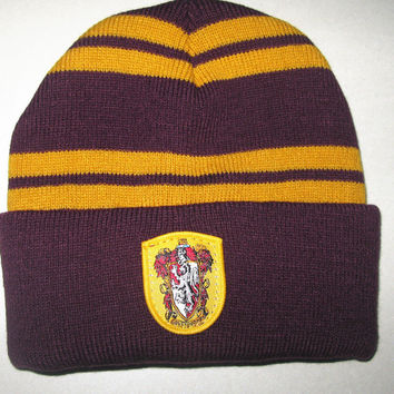 Harry Potter Badge hats winter Beanies Hat Warm Knit Hats Women Knitted Ski Men Caps christmas gift cosplay