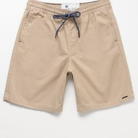 On The Byas Twill Drawstring Shorts - Mens Shorts