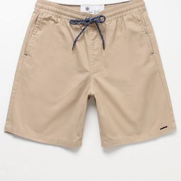 On The Byas Twill Drawstring Shorts - from PacSun