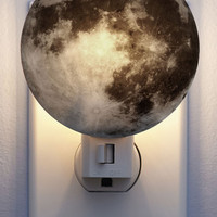 Kikkerland Cosmic Galaxy You Later Night Light in Moon