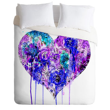 Holly Sharpe Cherish In Winter Duvet Cover
