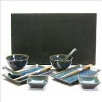 10-Piece Japanese Dinnerware Set BL