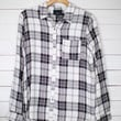 Flannel Pocket Button Down Top
