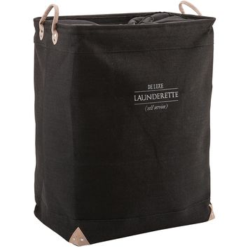 Lubin Hamper Laundry Basket With Carry Handles and Removable Washable Liner