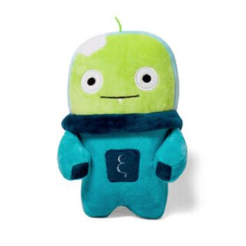 Alien Flex Bubu | Plush Dog Toy