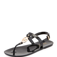 Sondra Jelly Thong Sandal, Black - MICHAEL Michael Kors - Black