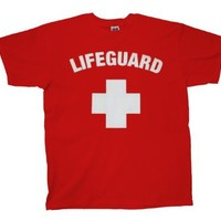 Life Guard T-Shirt Logo Design Lifeguard