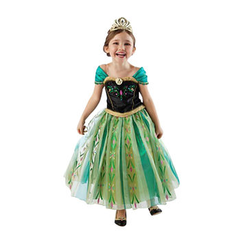 Summer Girl Fashion Elsa Anna Dress Children Clothing Girls Princess Elsa Anna Party Dresses Baby Kids Clothes Vestidos