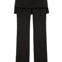 M'O Exclusive: Silk Cady Trousers With Skirt by Givenchy Now Available on Moda Operandi