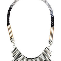 Tubes and Rope Necklace - Jewelry  - Bags & Accessories