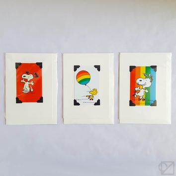 Vintage Snoopy Playing Cards - Omoi Zakka Shop
