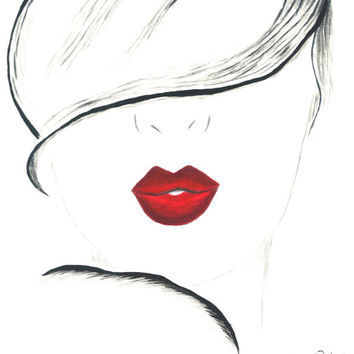 Fashion Illustration - Beauty Lies Within