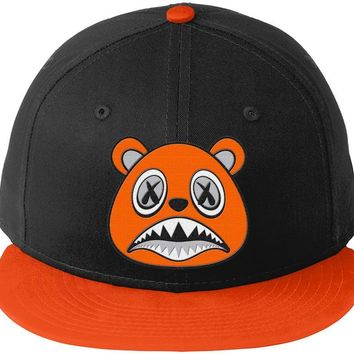 Orange Baws - New Era 9Fifty Snapback Hat - Nike Air Just Do It