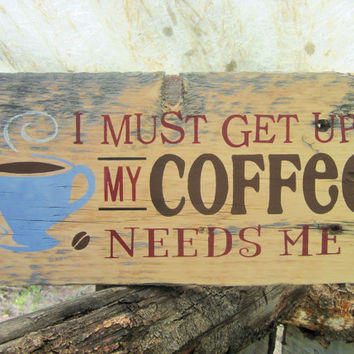 Coffee Sign Rustic Coffee Sign Made In Montana Kitchen Sign Weathered Wood Sign Coffee Beans Espresso Latte Coffee Shop Sign Rustic Decor