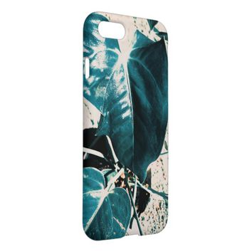 Dark Green Plant Leaf IPhone 8/7 Case Cover