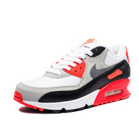 NIKE WOMEN'S AIR MAX 90 OG - WHITE NEUTRAL GREY/BLACK/COOL GREY | Undefeated