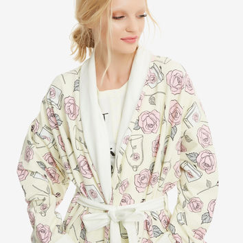 Disney Beauty And The Beast Robe