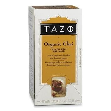 Starbucks Coffee Tazo Chai Spice Tea, 24/BX
