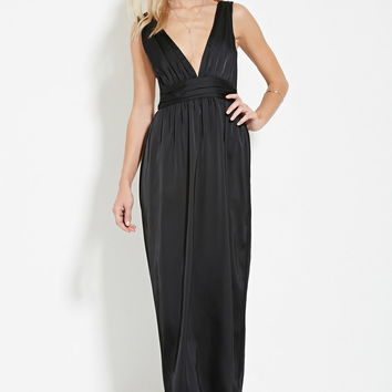 Club L High Neck Sequin Fishtail Maxi from ASOS