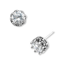 Juicy Couture 'Princess' Cubic Zirconia Studs | Nordstrom