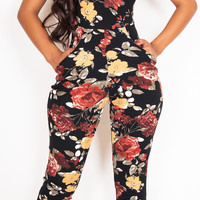 Wine Garden Jumpsuit