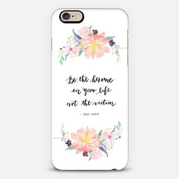 Be the Heroine iPhone 6s case by Chasing Linen | Casetify