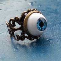 Ring with Blue Eye