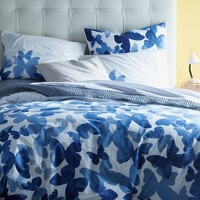 Organic Cotton Mariposa Duvet Cover + Shams