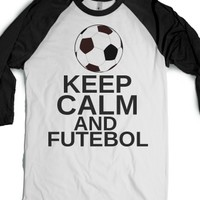 keep calm and futebol