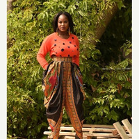 LABOUR DAY SALE Dashiki Harem pant African clothing African print