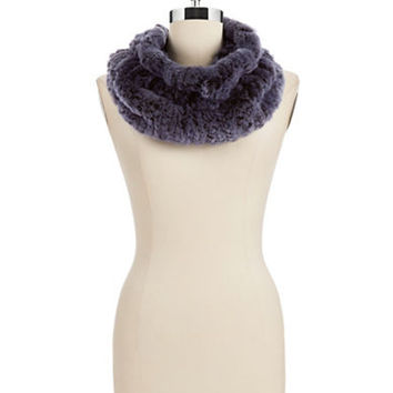 Linda Richards Rex Rabbit Fur Scarf