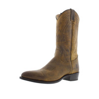 Frye Mens Billy Leather Distressed Cowboy, Western Boots